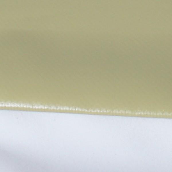 PVC matt mit Saum und ohne Ösen, sand