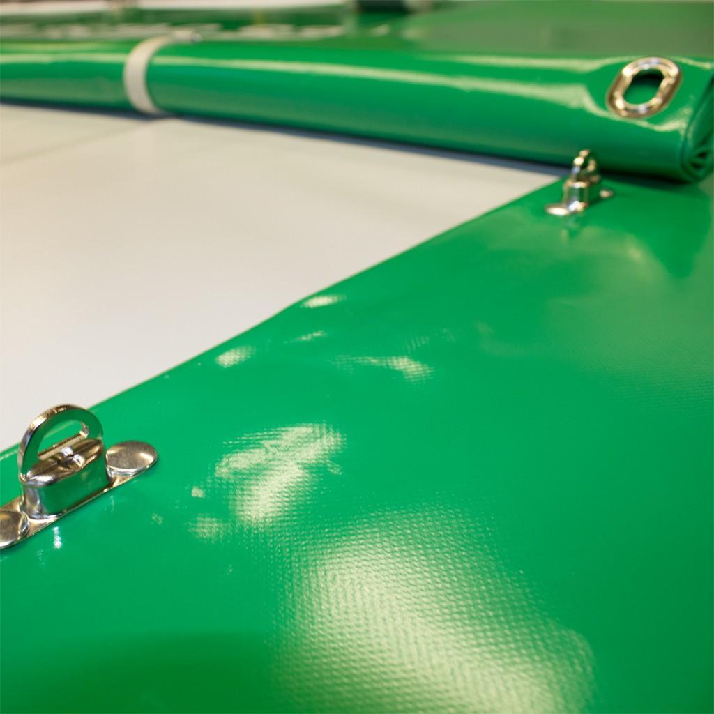 4,2€//m² Abdeckplane LKW Plane PVC Folie 2,15m breit ca 680 g//qm grau ohne Ösen