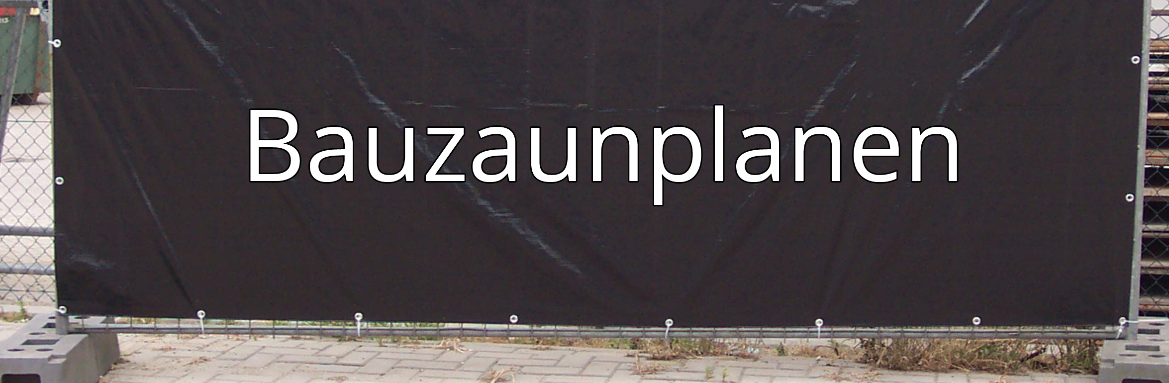 bauzaunplane