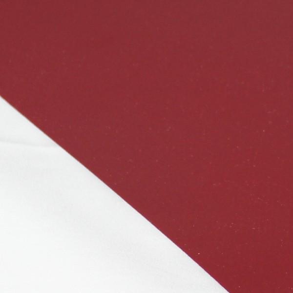 PVC matt ohne Saum und ohne Ösen, purpurrot