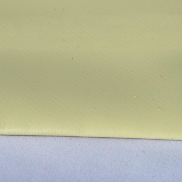 PVC matt mit Saum und ohne Ösen, beige
