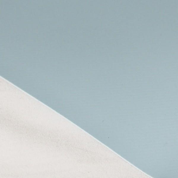PVC matt ohne Saum und ohne Ösen, taubenblau